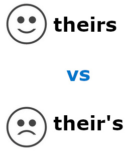 Theirs vs their's